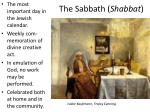the sabbath shabbat