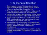 u s general situation