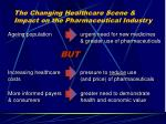 the changing healthcare scene impact on the pharmaceutical industry