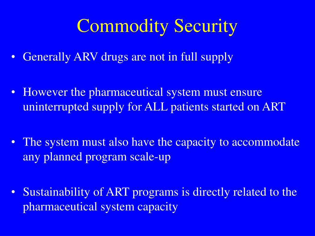 Commodity Security