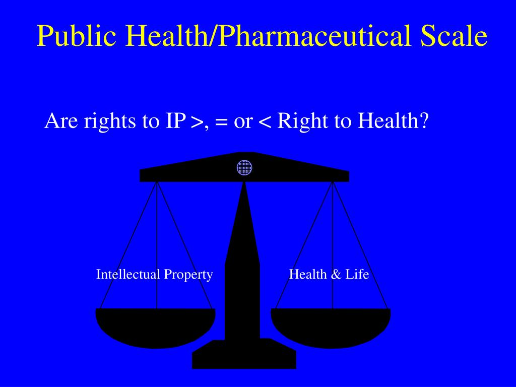 Public Health/Pharmaceutical Scale