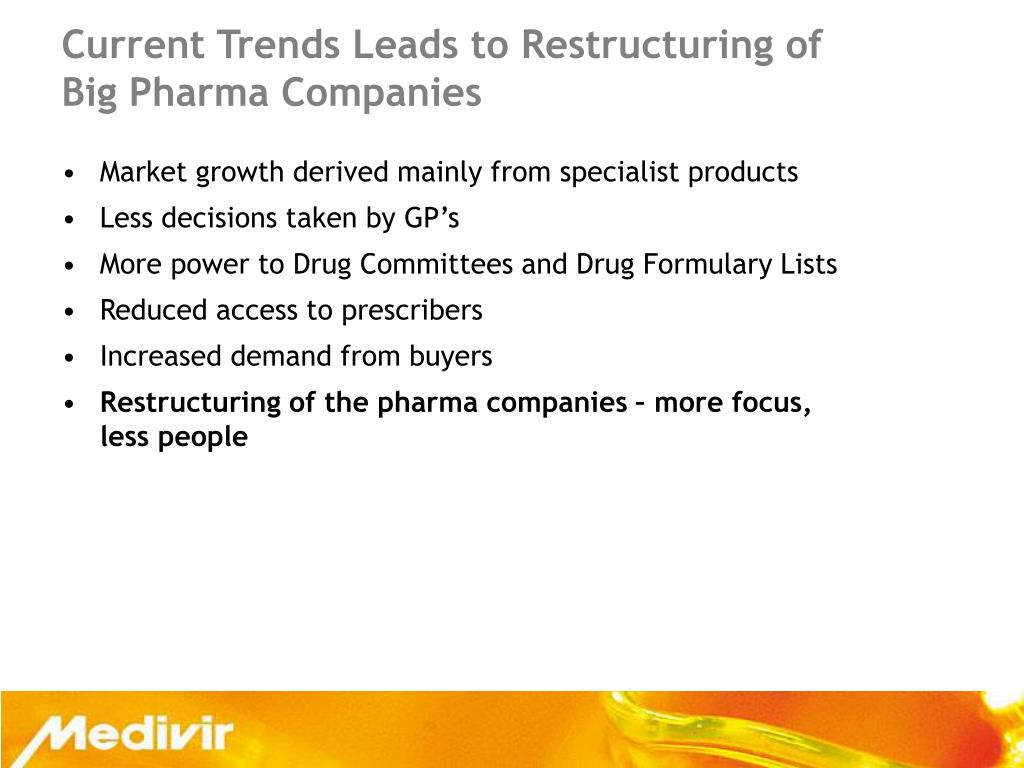 Current Trends Leads to Restructuring of