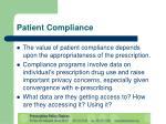 patient compliance12