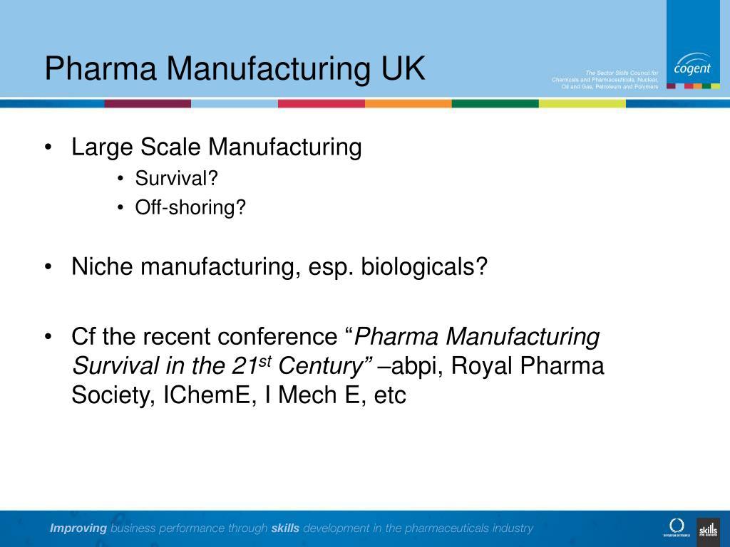 Pharma Manufacturing UK