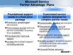 microsoft service partner advantage plans