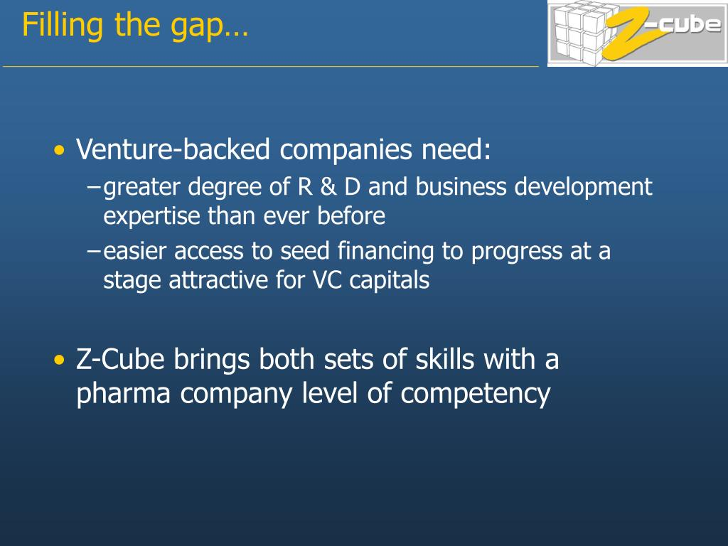 Venture-backed companies need: