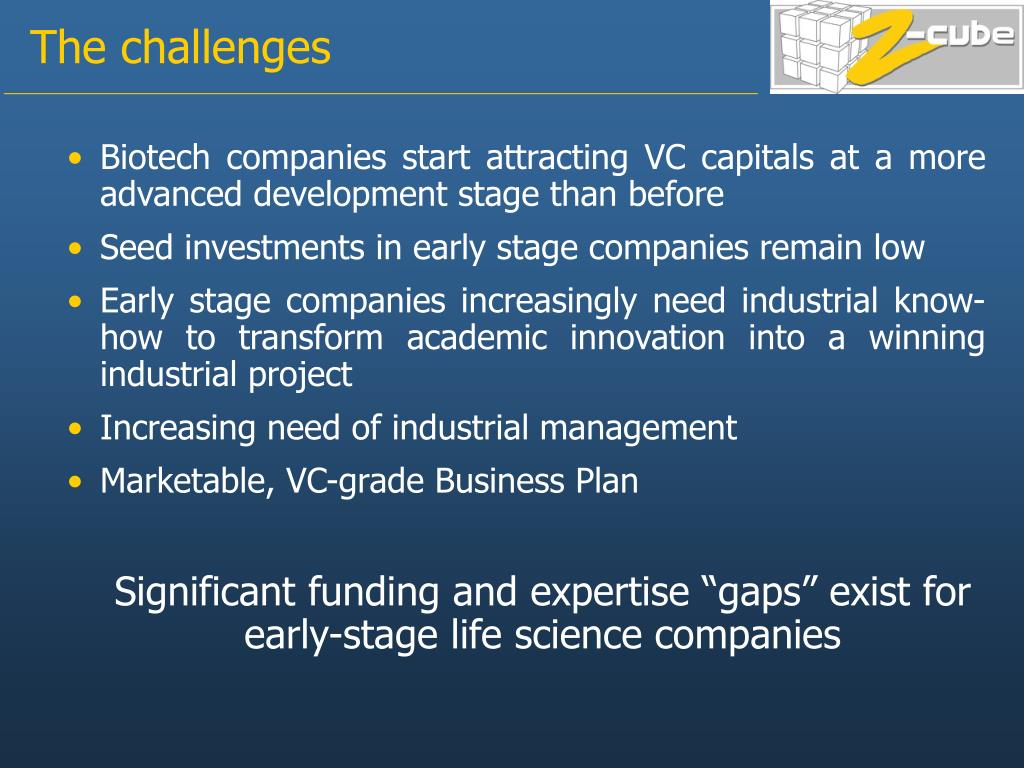 Biotech companies start attracting VC capitals at a more advanced development stage than before