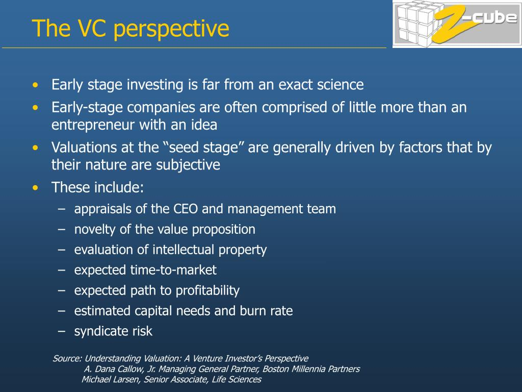 Early stage investing is far from an exact science