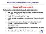 the initiative to promote clinical trials in belgium20