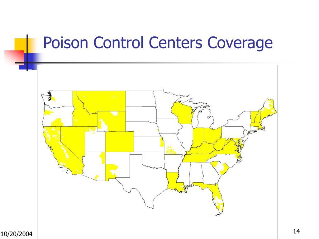 Poison Control Centers Coverage