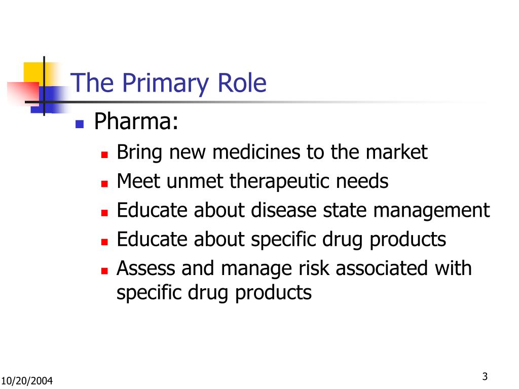 The Primary Role
