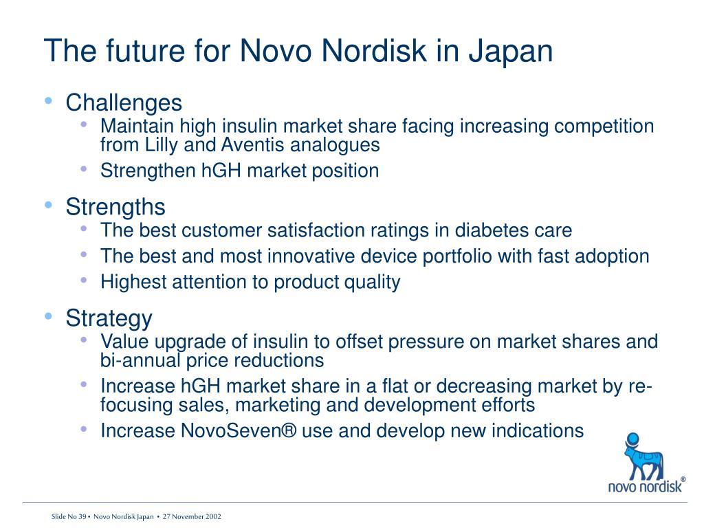 detailed strategic options for novo nordisk