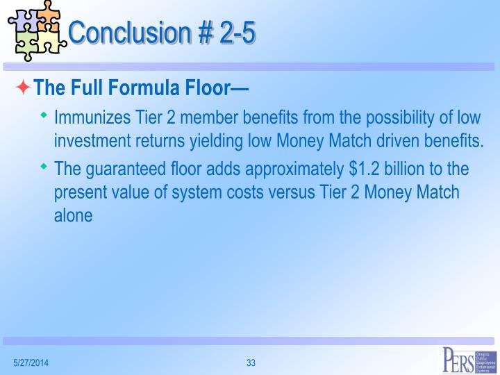 Conclusion # 2-5