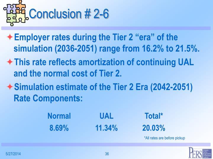 Conclusion # 2-6