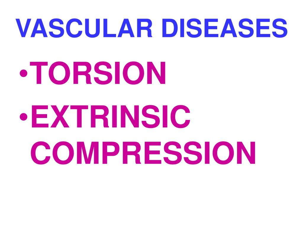 VASCULAR DISEASES