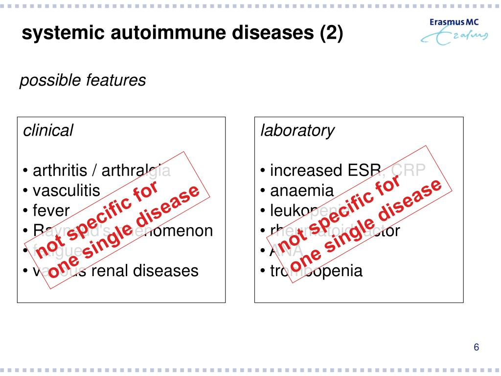 systemic autoimmune diseases (2)