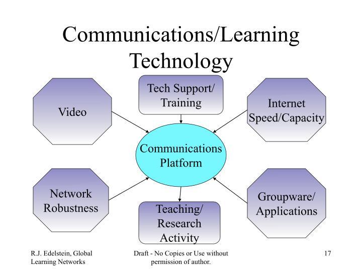 Communications/Learning Technology