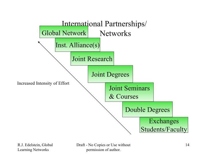International Partnerships/