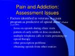 pain and addiction assessment issues24