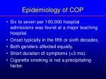 epidemiology of cop