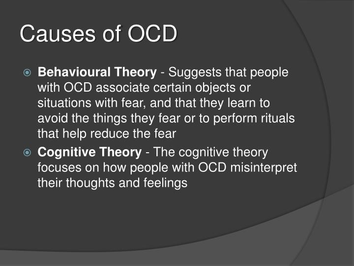 Causes of OCD