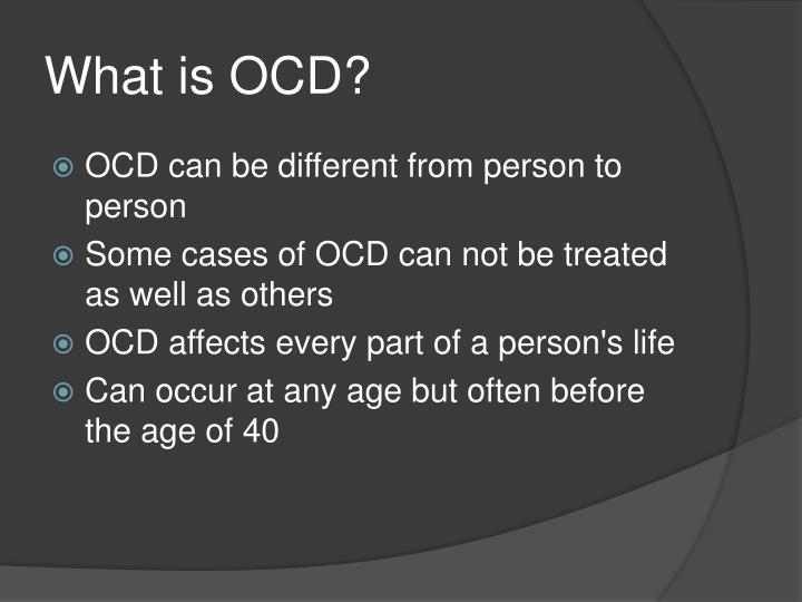 What is ocd1