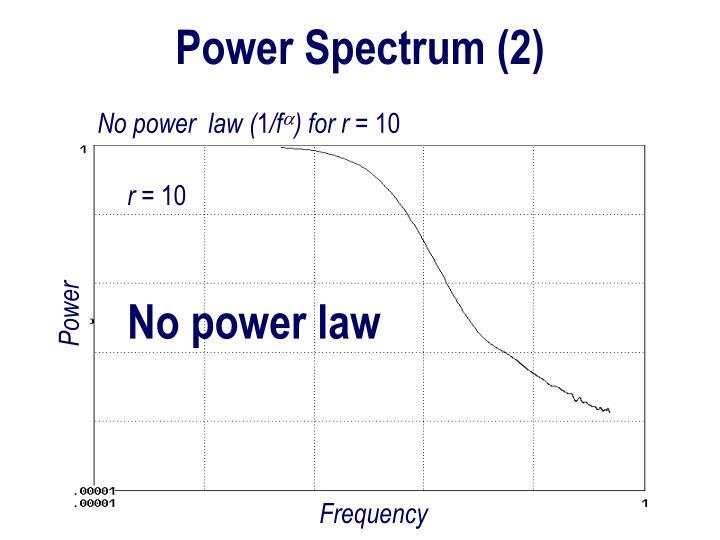 Power Spectrum (2)