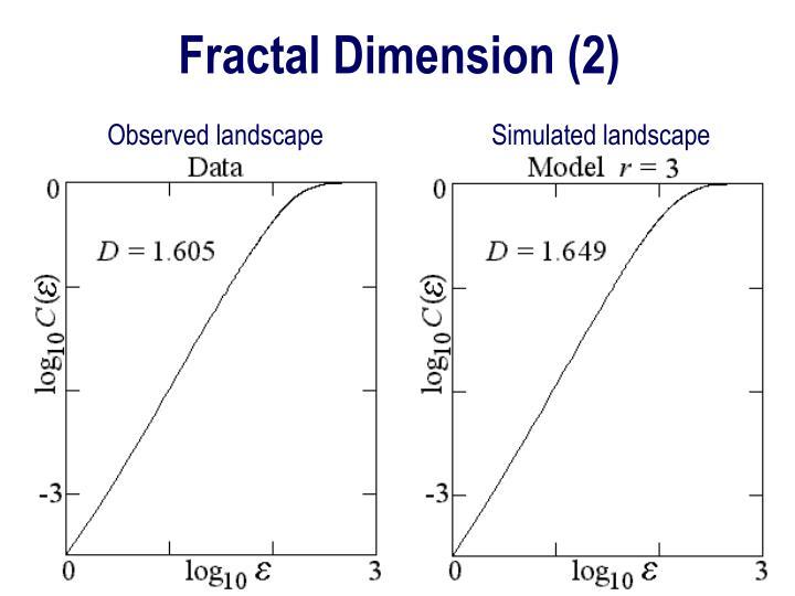Fractal Dimension (2)