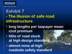 exhibit 7 the illusion of safe road infrastructure