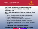 snore avoidance 101