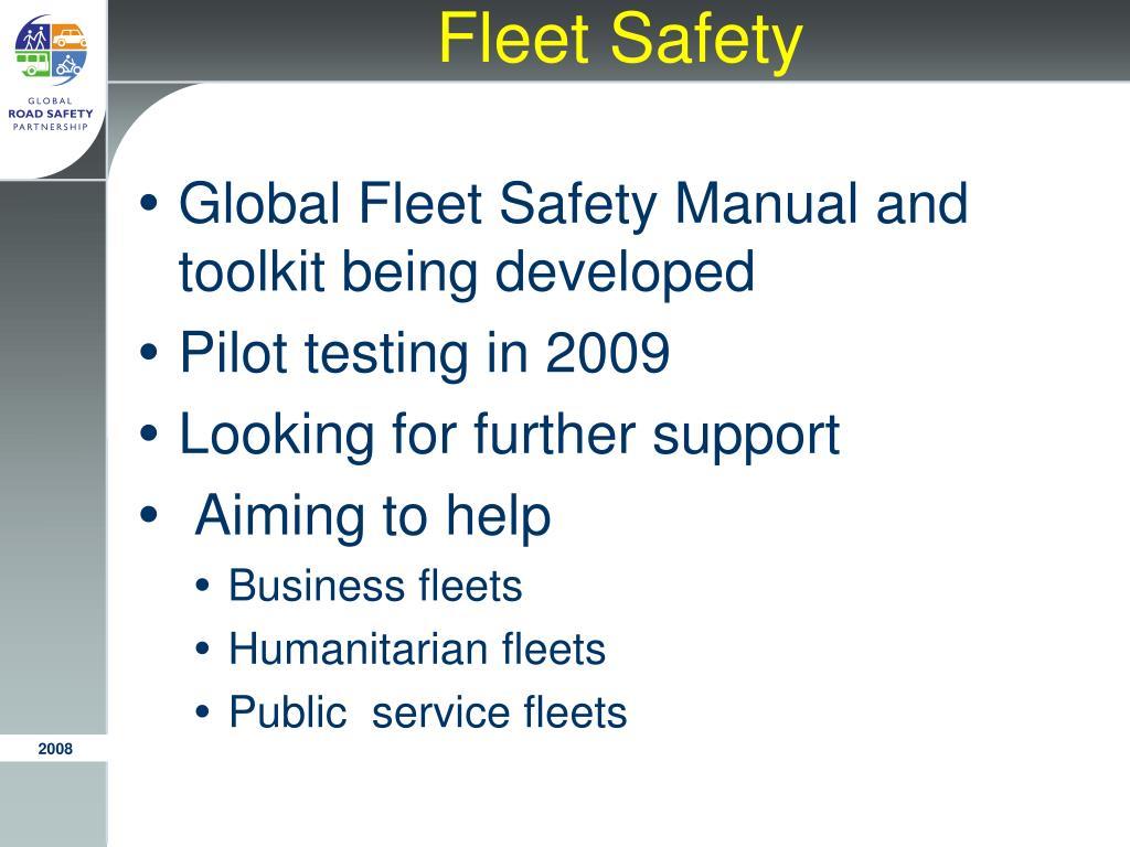 Fleet Safety