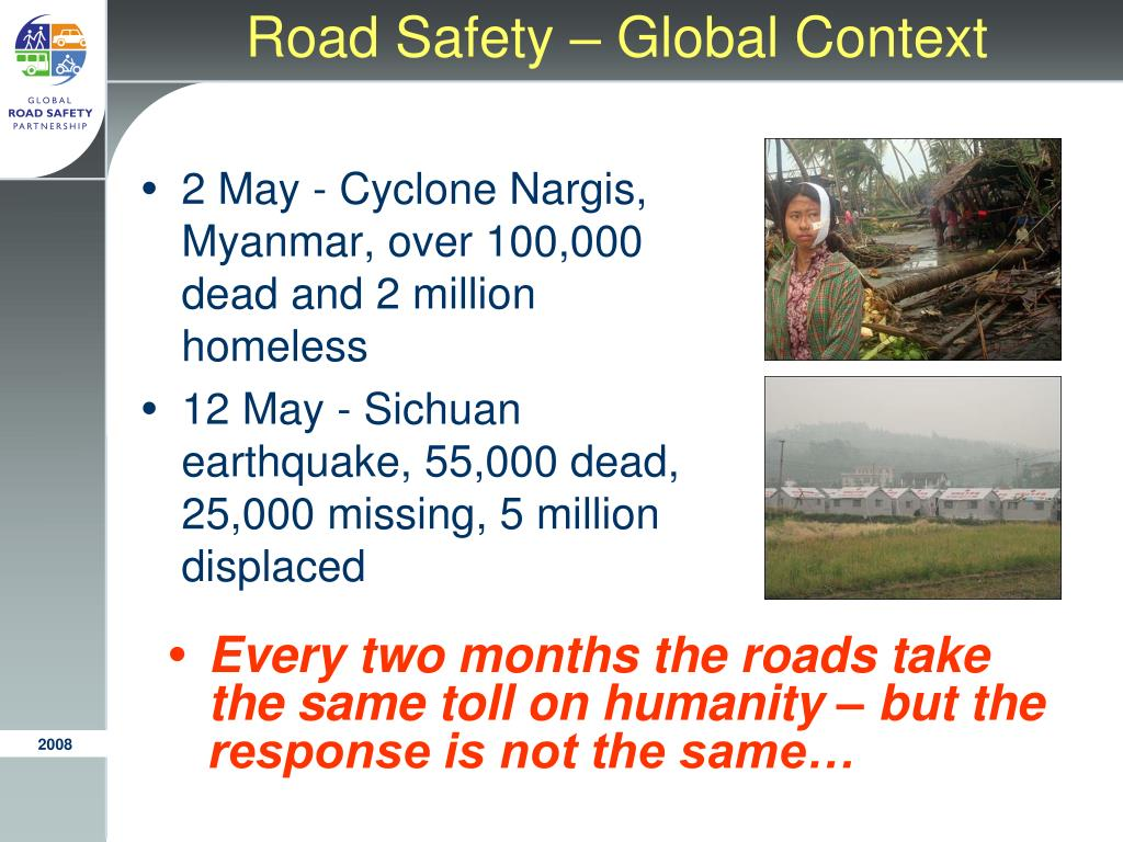 Road Safety – Global Context