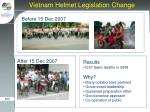 vietnam helmet legislation change