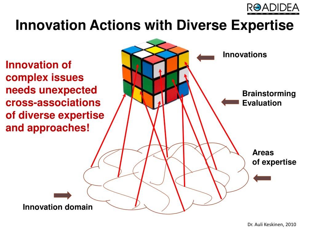 Innovation Actions with Diverse Expertise