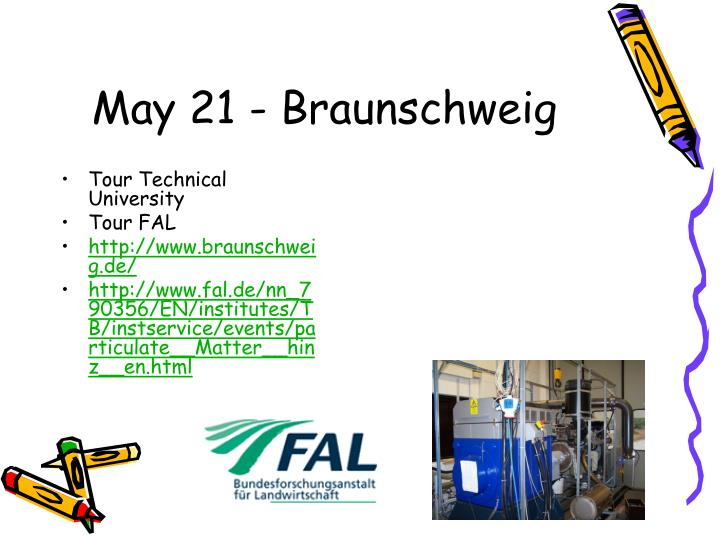 May 21 - Braunschweig
