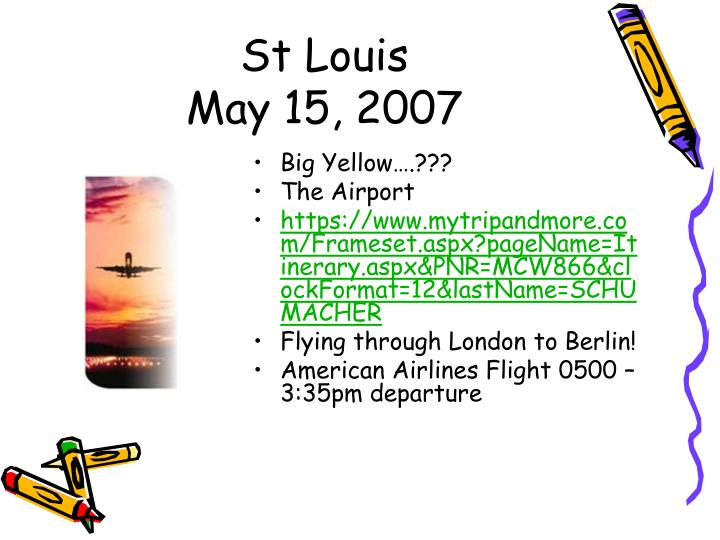 St louis may 15 2007