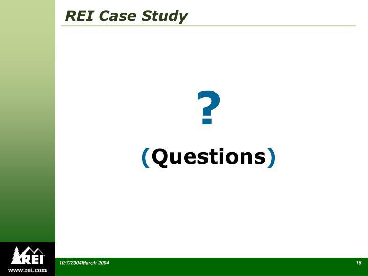 REI Case Study