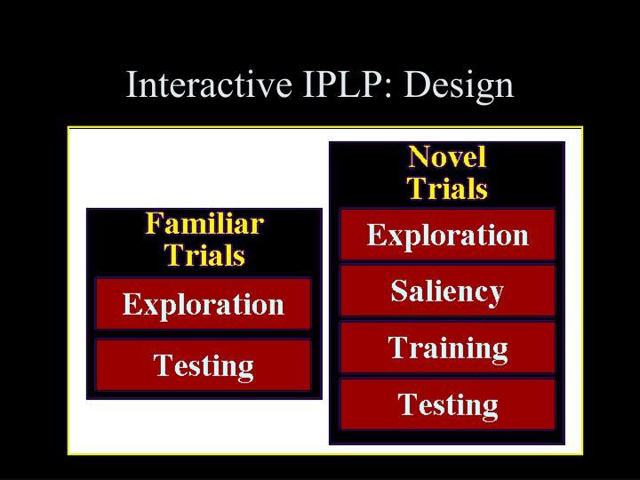 Interactive IPLP: Design