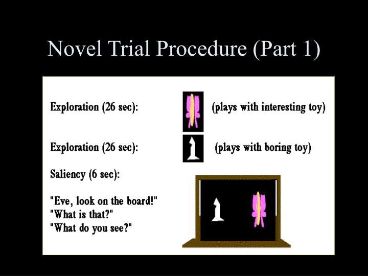 Novel Trial Procedure (Part 1)