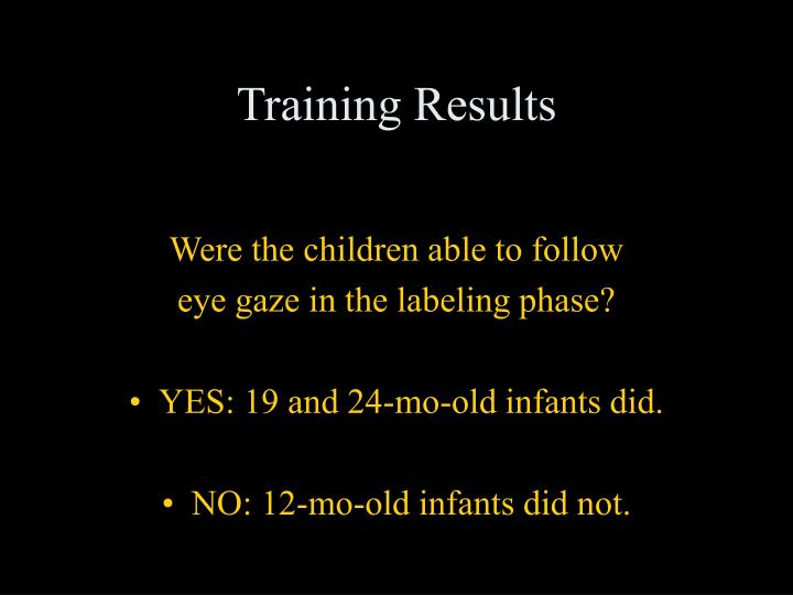 Training Results