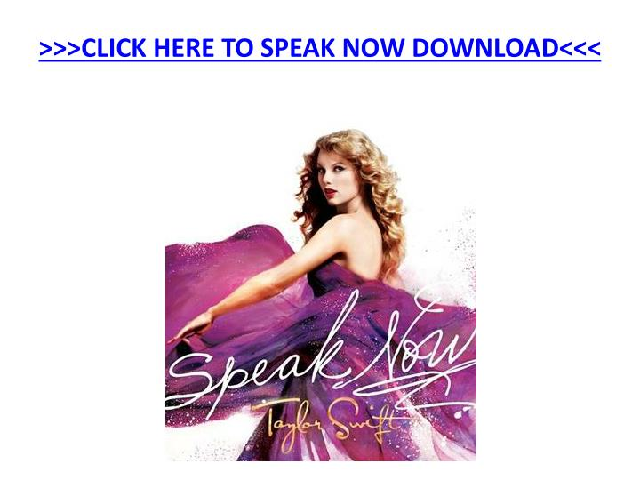Click here to speak now download