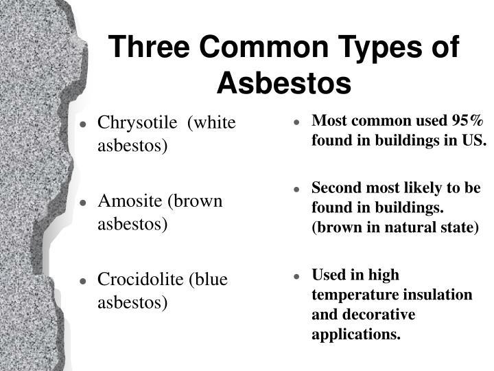 Types Of Asbestos : Ppt asbestos hazards lead based paint safety