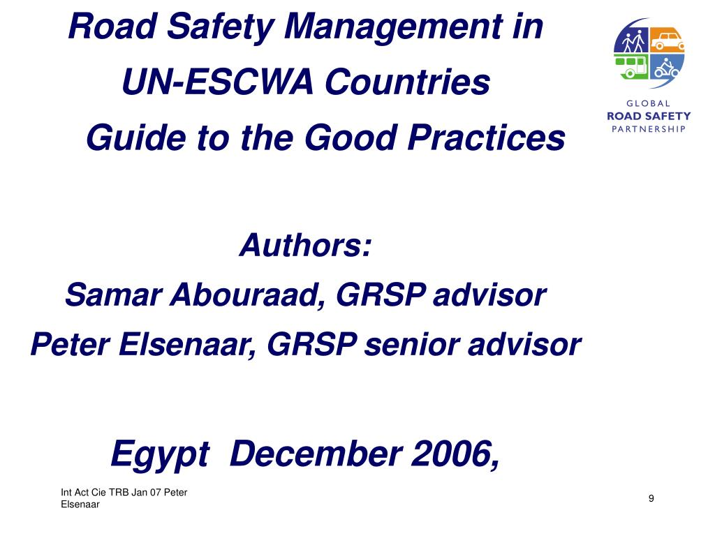 Road Safety Management in