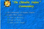 the chivalric orders commandery