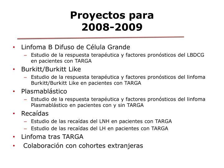 Proyectos para
