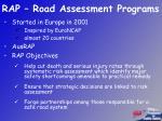 rap road assessment programs