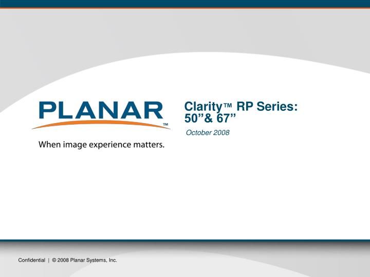 Clarity rp series 50 67