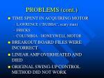 problems cont21