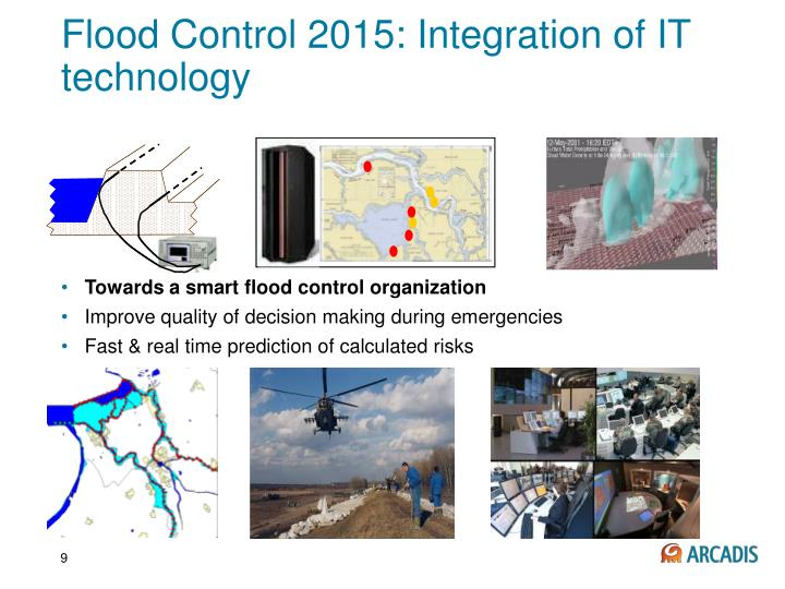 Flood Control 2015: Integration of IT technology