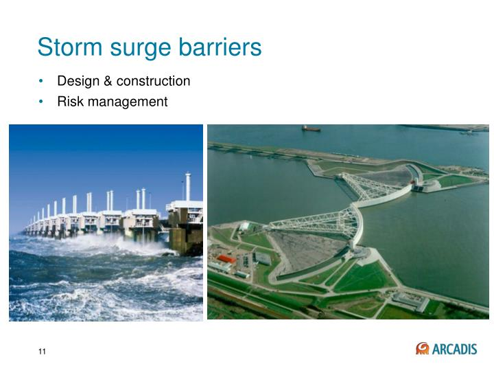 Storm surge barriers